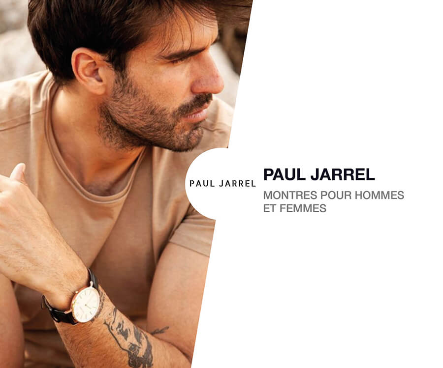 Montre Paul Jarrel en cuir