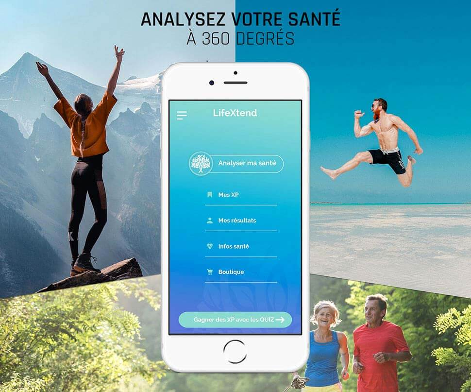 Lifextend application santé