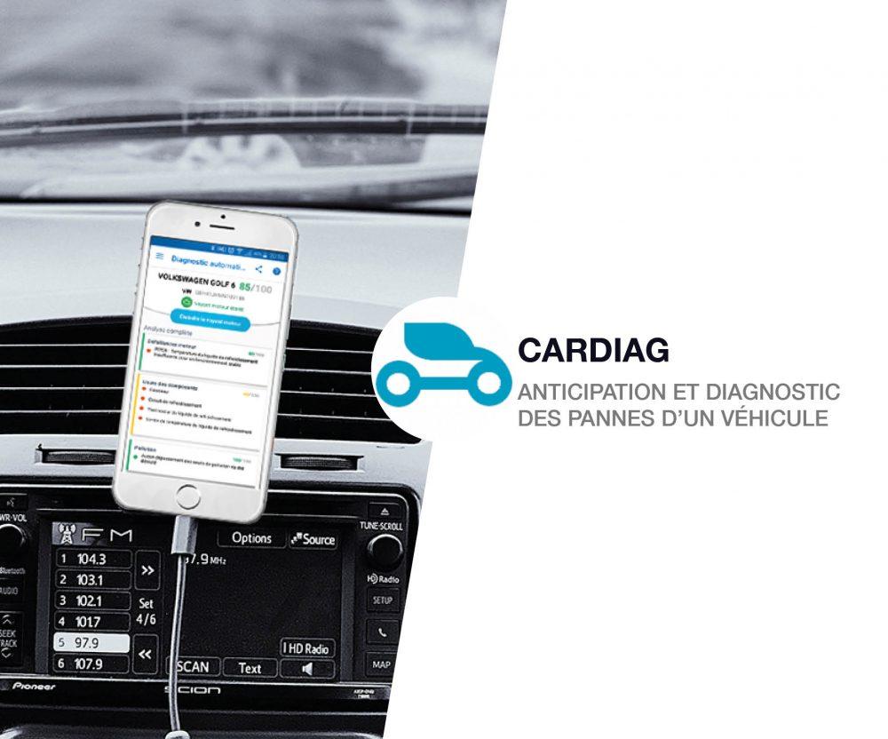 application pour voiture