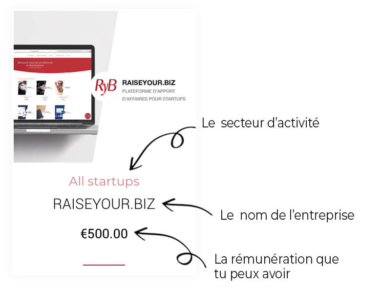 fiche raise your biz